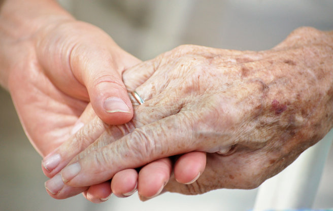 gammel hånd